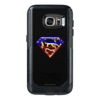 Superman S-Shield | Purple-Red Graffiti Logo OtterBox Samsung Galaxy S7 Case