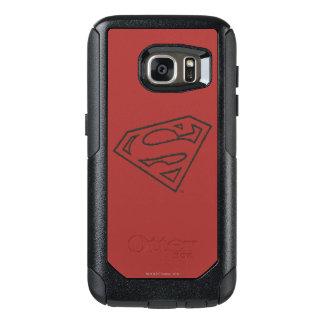 Superman S-Shield | Sideways Grunge Logo OtterBox Samsung Galaxy S7 Case