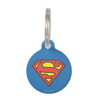 Superman S-Shield | Superman Logo Pet Name Tags