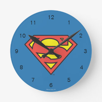 Superman S-Shield | Superman Logo Wall Clocks