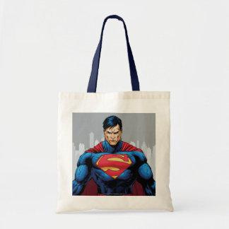 Superman Standing Budget Tote Bag