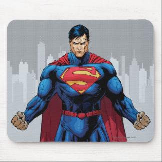 Superman Standing Mousepads