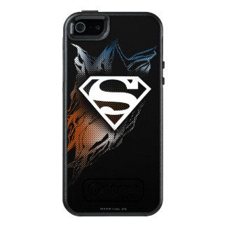 Superman Stylized | Blue Orange Logo OtterBox iPhone 5/5s/SE Case