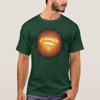 Superman Stylized | Crackle Logo T-Shirt