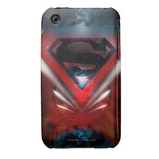 Superman Stylized   Futuristic Logo Case-Mate iPhone 3 Cases