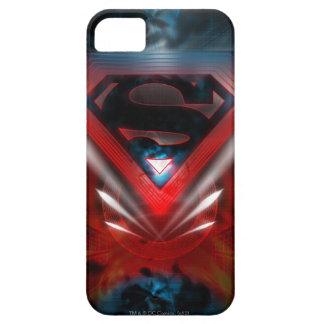 Superman Stylized   Futuristic Logo iPhone 5 Case