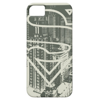 Superman Stylized | Green Metropolis Logo Case For The iPhone 5