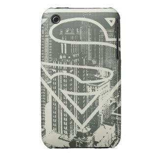 Superman Stylized   Green Metropolis Logo iPhone 3 Case-Mate Cases