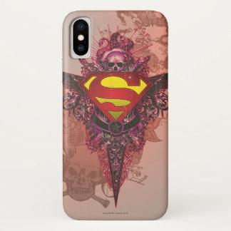 Superman Stylized | Grunge Design Logo Case-Mate iPhone Case