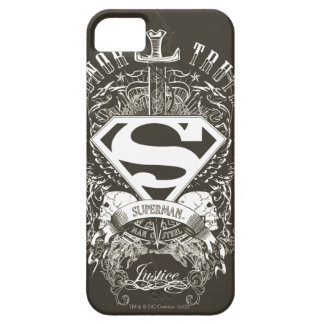 Superman Stylized | Honor, Truth and Justice Logo iPhone 5 Cover