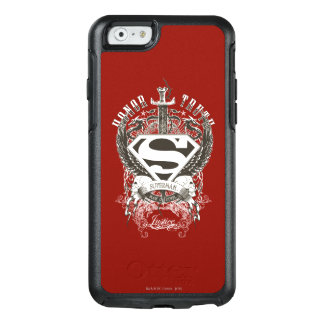 Superman Stylized | Honor, Truth on White Logo 2 OtterBox iPhone 6/6s Case