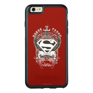 Superman Stylized | Honor, Truth on White Logo 2 OtterBox iPhone 6/6s Plus Case