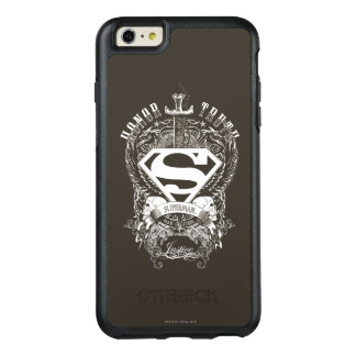 Superman Stylized | Honor, Truth on White Logo OtterBox iPhone 6/6s Plus Case