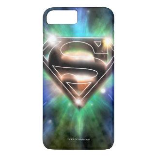 Superman Stylized | Shiny Burst Logo iPhone 8 Plus/7 Plus Case