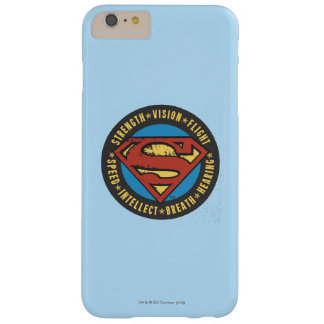 Superman Stylized | Strength Vision Flight Logo Barely There iPhone 6 Plus Case