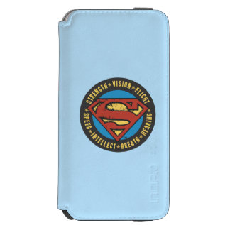 Superman Stylized | Strength Vision Flight Logo Incipio Watson™ iPhone 6 Wallet Case