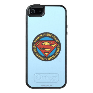 Superman Stylized | Strength Vision Flight Logo OtterBox iPhone 5/5s/SE Case