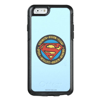 Superman Stylized | Strength Vision Flight Logo OtterBox iPhone 6/6s Case