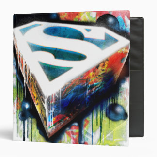 Superman Stylized | Urban Graffiti Logo Binder
