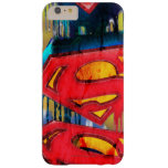 Superman Stylized | Urban Spraypaint Logo Barely There iPhone 6 Plus Case