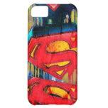 Superman Stylized | Urban Spraypaint Logo iPhone 5C Cases
