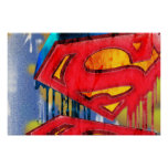 Superman Stylized | Urban Spraypaint Logo Poster