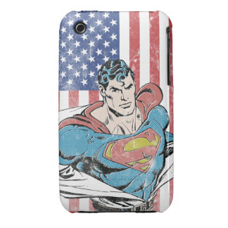 Superman & US Flag iPhone 3 Covers