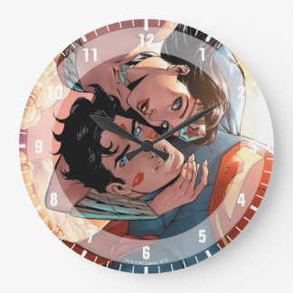 Superman/Wonder Woman Comic Cover #11 Variant Large Clock