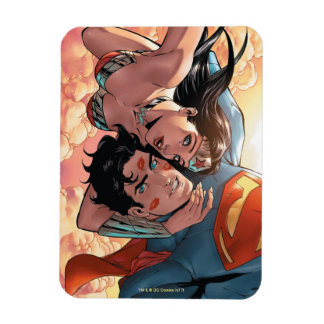 Superman/Wonder Woman Comic Cover #11 Variant Magnet