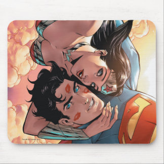 Superman/Wonder Woman Comic Cover #11 Variant Mouse Pad