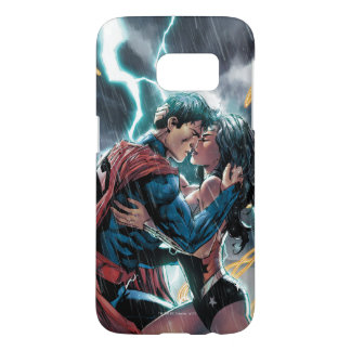 Superman/Wonder Woman Comic Promotional Art Samsung Galaxy S7 Case