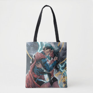 Superman/Wonder Woman Comic Promotional Art Tote Bag