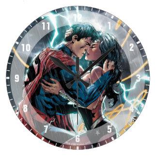 Superman/Wonder Woman Comic Promotional Art Wallclocks