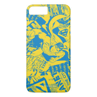 Superman Yellow and Blue iPhone 7 Plus Case