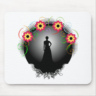 Supermodel Graphic Mouse Pad