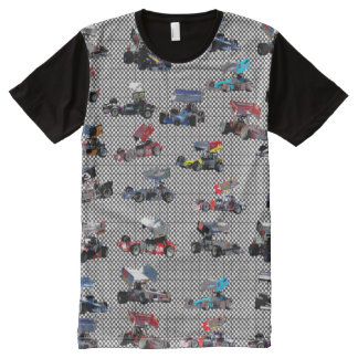 Supermodifed collage T All-Over-Print T-Shirt