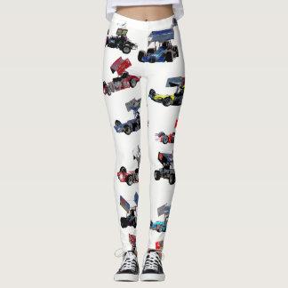 Supermodified collage leggings