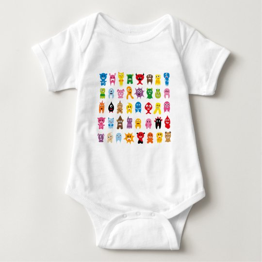 SuperMonstersAll Baby Bodysuit