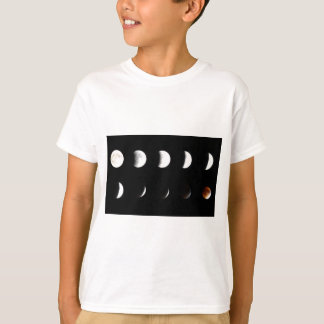 Supermoon Lunar Eclipse 2015 T-Shirt