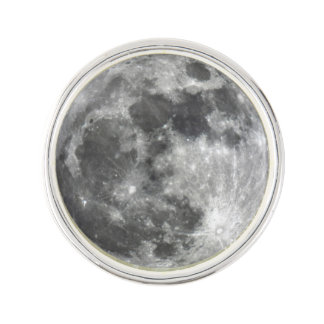 Supermoon Moon Lapel Pin