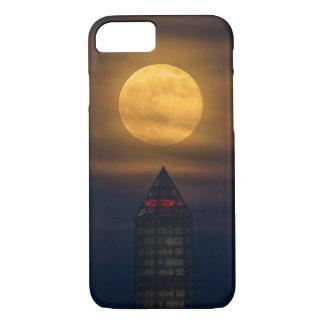 Supermoon Over Washington Monument iPhone 8/7 Case
