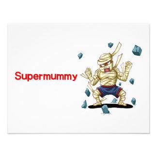 Supermummy Invites