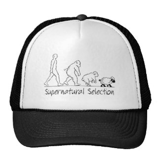 Supernatural Selection - From Man to Sheep! Trucker Hat
