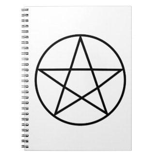 Supernatural Symbol Series #4 Spiral Notebook