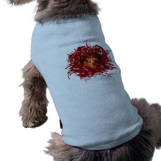 Supernova Heart Galaxy Doggie T Shirt