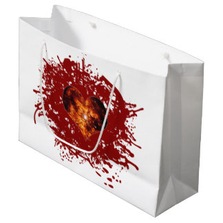 Supernova Heart Galaxy Large Gift Bag