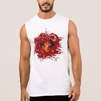 Supernova Heart Galaxy Sleeveless Shirt