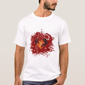 Supernova Heart Galaxy T-Shirt