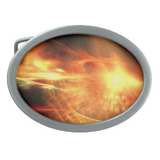 Supernova Oval Belt Buckles