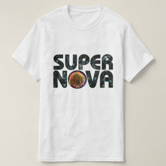 Supernova Photo Background Text T-Shirt